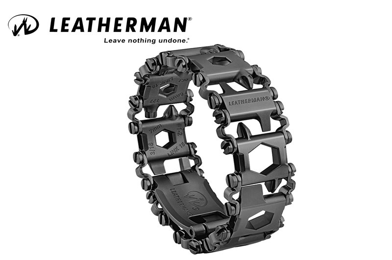צמיד TREAD לדרמן שחור - leatherman TREAD Black