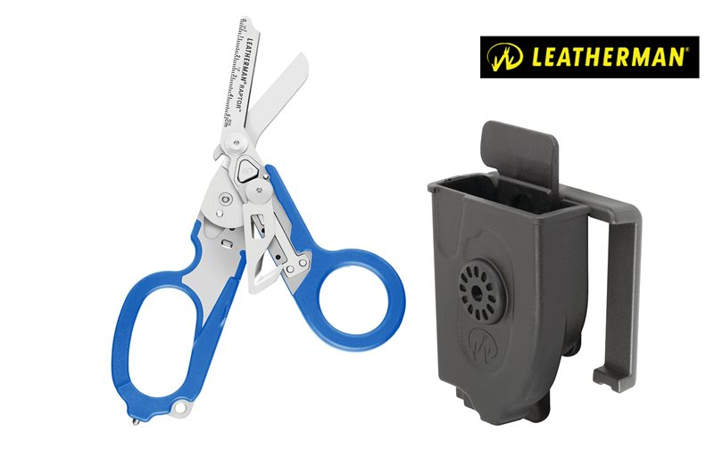 לדרמן רפטור כחול - leatherman raptor Blue
